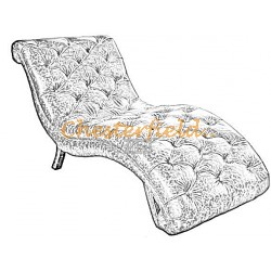 Chaise Lounge Chesterfield