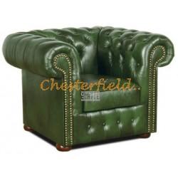 Classic Antikgruen (A8) Cheserfield Sessel