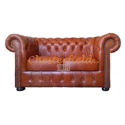 Classic 2-Sitzer Antikwhisky Chesterfield Sofa