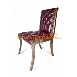 Classic Antikrot Chesterfield Stuhl