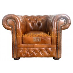 Lord Antikgold (S12) Chesterfield Sessel