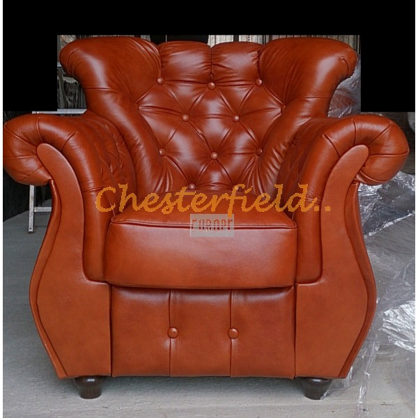 Monk Antikgold (S12) Chesterfield Sessel