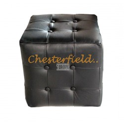 Chesterfield Würfel Schwarz K70