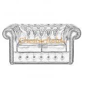 Classic 2er Chesterfield Sofa (18)