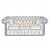 Classic 3er Chesterfield Sofa (12)