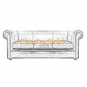London 3er Chesterfield Sofa (6)