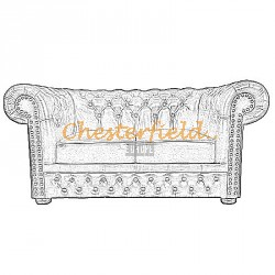 Lord 2er Chesterfield Sofa