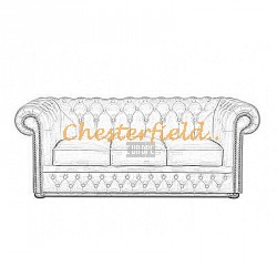 Lord 3er Chesterfield Sofa
