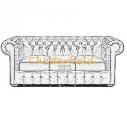 Mark 3er Chesterfield Sofa