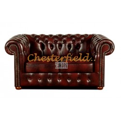 Classic Antikrot 2-Sitzer Chesterfield Sofa