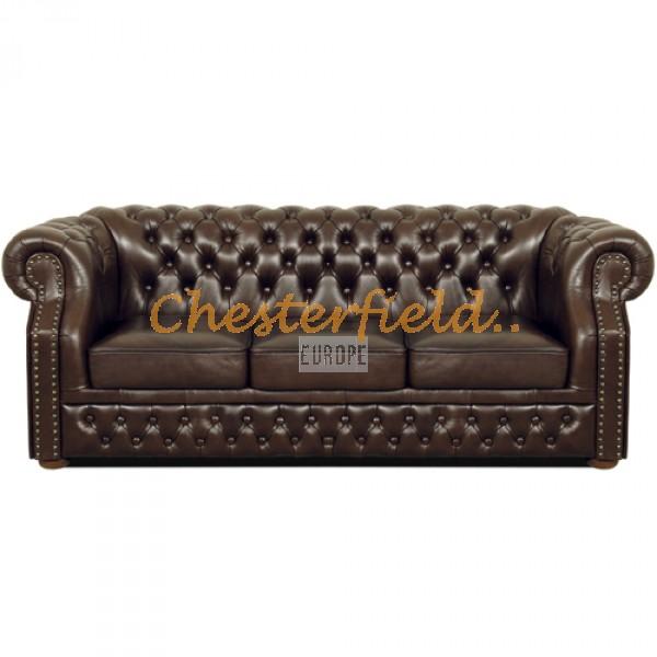 Windsor Antikbraun 3-Sitzer Chesterfield Sofa