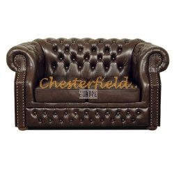 Windsor Antikbraun 2-Sitzer Chesterfield Sofa