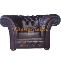 Windchester XL Antikbraun Chesterfield Sessel