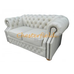 Windsor Off-Weiß 2-Sitzer Chesterfield Sofa