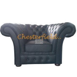 Windchester XL Schwarz (k70) Chesterfield Sessel