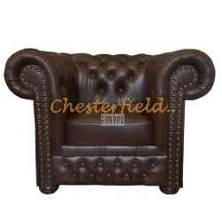 Lord Antikbraun (A5) Chesterfield Sessel