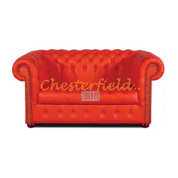 Williams Rot 2-Sitzer Chesterfield Sofa