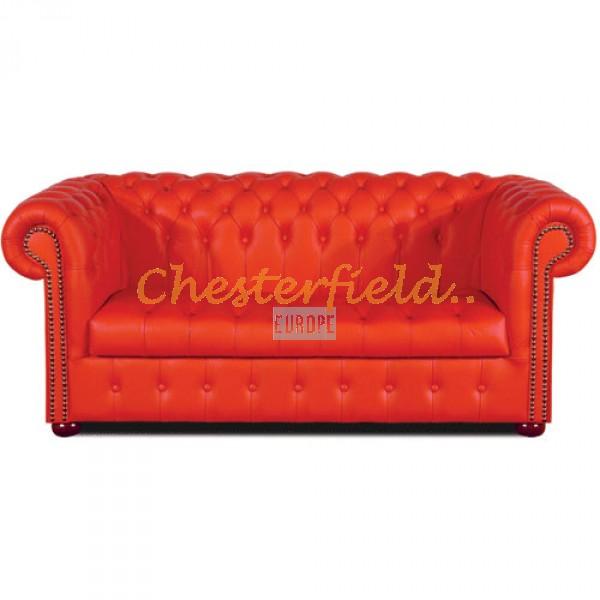 Williams XL Rot 3-Sitzer Chesterfield Sofa