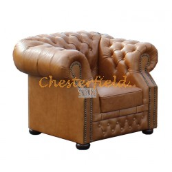 Windsor XL Antikwhisky Chesterfield Sessel