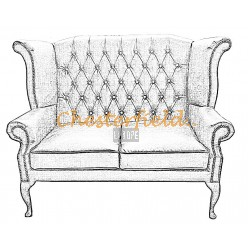 Queen 2er Chesterfield Sofa
