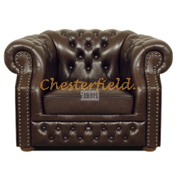Windsor XL Antikbraun (A5) Chesterfield Sessel