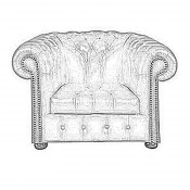 Williams XL Chesterfield Sessel (4)