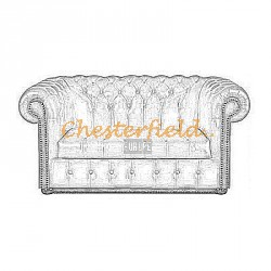 Williams 2er Chesterfield Sofa