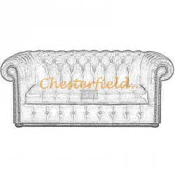 Williams 3er Chesterfield Sofa