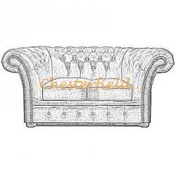 Windchester 2er Chesterfield Sofa
